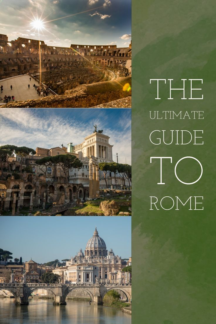 Our Ultimate Guide to 3 Days in Rome | Lugares para ...