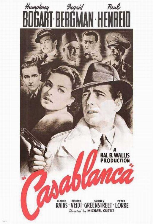 Casablanca 1942 - Recomendacion de D.U. para entender en medio de un romance el papel fundamental de los espias franceses de la resistencia, en el continente norAfricano sobre todo en casablanca marruecos, durante la francia de Vichy pro Nazi.