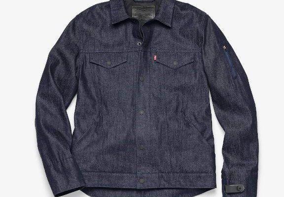 Levis Commuter, prima geaca denim jeans smart disponibila din toamna, anunta Google