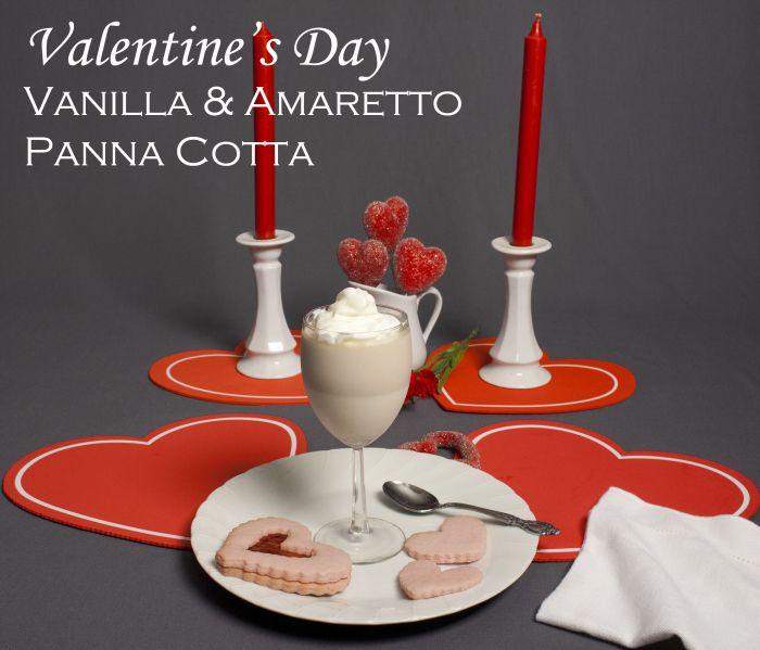 Chocolate Amaretto Panna Cotta Recipe — Dishmaps