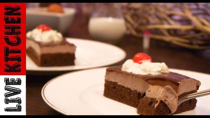 Γλυκό ψυγείου - Εύκολη  πάστα σοκολατίνα - The easiest chocolate paste -...