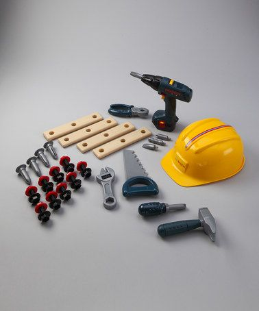 Another great find on #zulily! Construction Toy Set #zulilyfinds