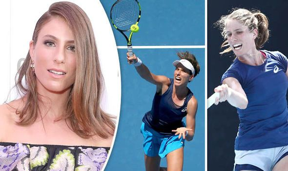 Johanna Konta in pictures: From tennis youngster to Britain's number one