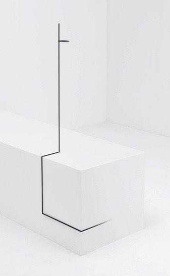 nendo (Yuki Funakoshi, Marina Ike) | Border Table | collection created for EYE OF GYRE during Tokyo Designers Week, 2015