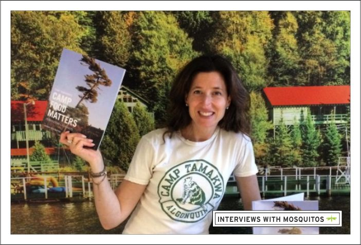 We interviewed Margot Perlmutter, Camp Director at Camp Tamakwa and author of Camp Food Matters. Camp Tamakwa is a co-ed residential summer camp located in beautiful Algonquin Park, Canada since 1936 (and where my kids spend their summers). We found out about the healthy food changes happening at camp, what healthy shifts any summer camp can easily make, and the most popular addition to meal time.