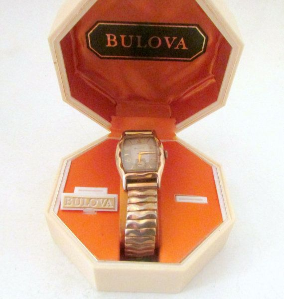 Vintage Bulova Mens Watch Working 17 jewel by nanascottagehouse