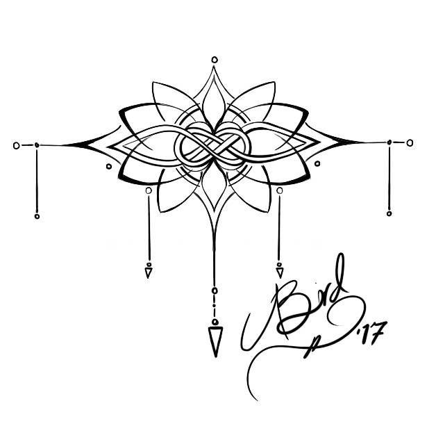 Nodo e Lotus Tattoo