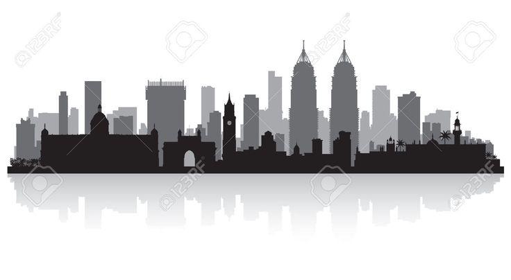 india skyline cutout - Google Search