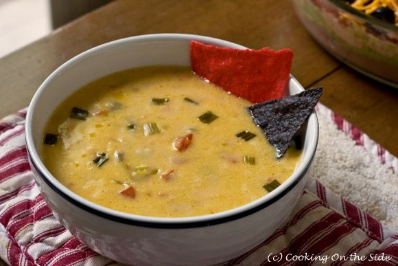 Recipe: Queso Dip | Cooking On the Side