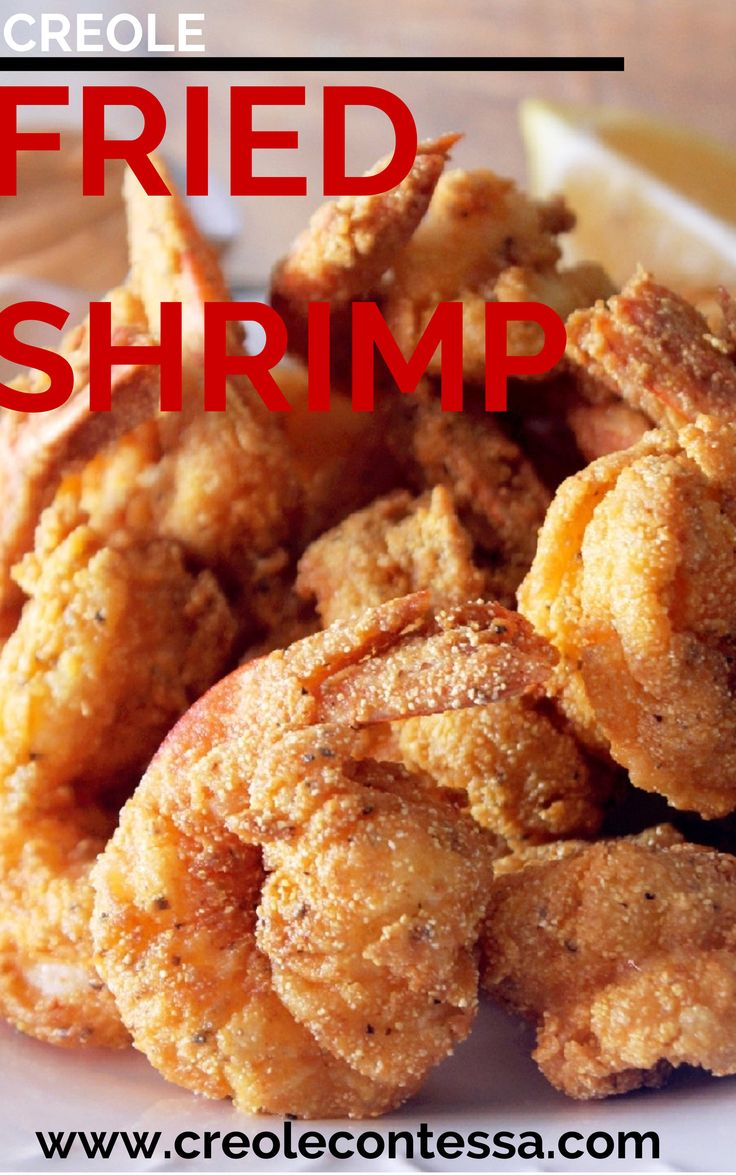 Creole Fried Shrimp-Creole Contessa - ONLY 10 MINUTES!!! #Seafood #Recipe