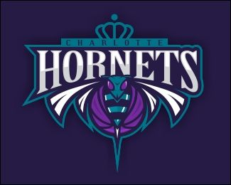 charlotte hornets desktops wallpapers   Charlotte Hornets Logo by dinoDESIGNS