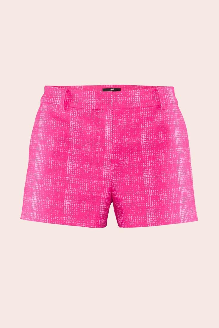 H hot pink shorts