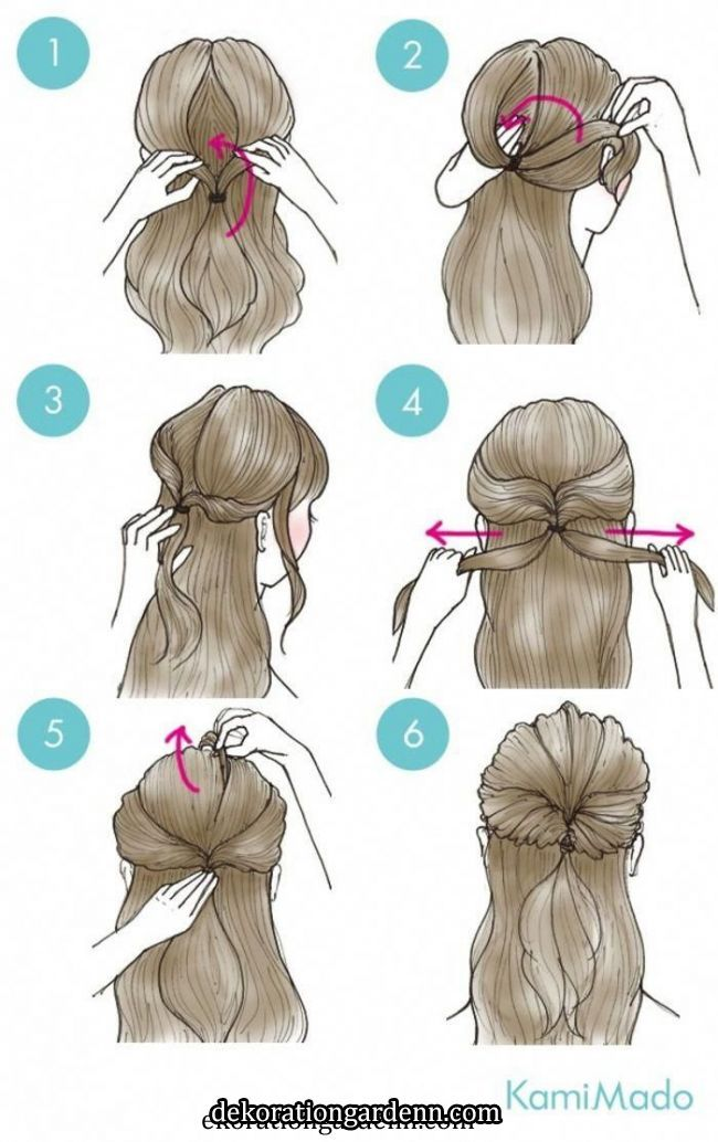 Easy & Simple Ponytail Tutorials #hairstylesforteenagegirl in 2020 | Long hair styles, Hair styles, Easy hairstyles   Easy & Simple Ponytail Tutorials #hairstylesforteenagegirl in 2020 | Long hair styles, Hair styles, Easy hairstyles