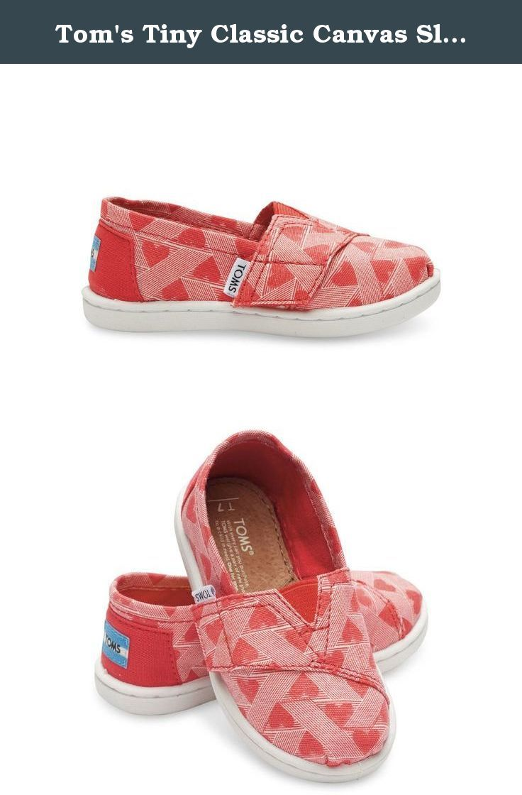 Tom's Tiny Classic Canvas Slip-on PINK. The Amazon.com TOMS store allows you to shop online for TOMS shoes with ease. The wide selection of shoes and accessories includes footwear for women, men, and kids, as well as sunglasses. Whether you're looking for shoes for children or adults, TOMS has something for everyone.