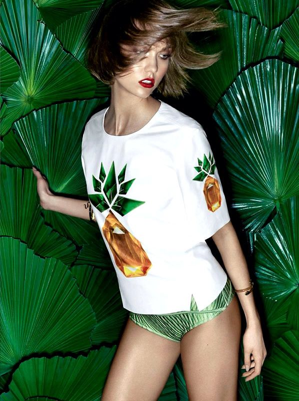 Karlie Kloss by Henrique Gendre - tropical More