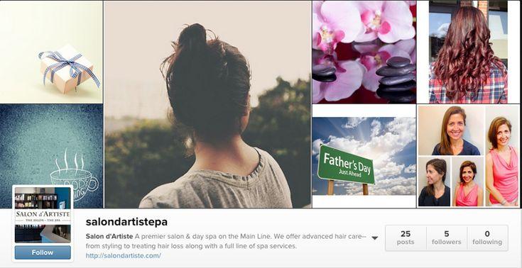 Don't miss a minute of the Salon d'Artiste experience- follow us on #Instagram @salondartistepa!