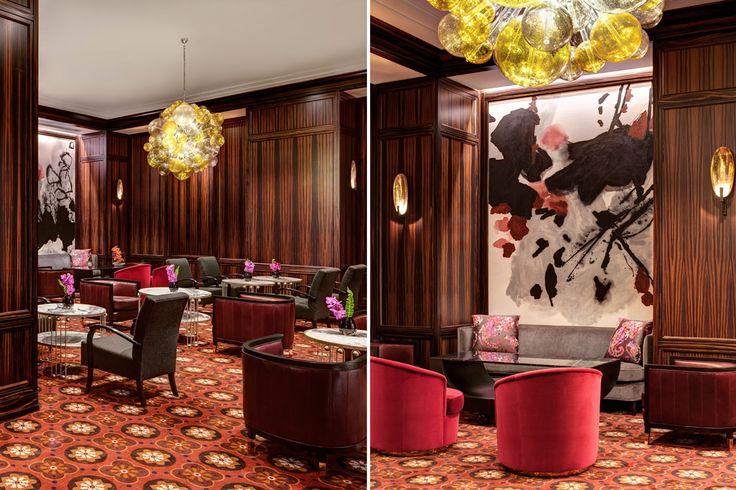 New York Palace | contract furniture, hospitality design, interior design | #modernhoteldesign #designinspirations #interior | More: https://www.brabbucontract.com/catalogue-download