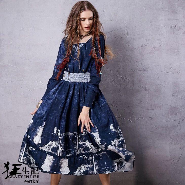 Artka платье с принтом   Artka длинное платье с джинсовым принтом. Ткань: 91,2% полиэфирное волокно, 8,8% нейлон, джинсовый принт (61% вискоза, 33% нейлон, 6% спандекс). Сезон: осень 2016. Цена: 4800 руб. Заказы на сайте: bohomagic.ru, доставка от 2 недель. #бохо #boho #bohochic #бохошик #бохоодежда #девушка #женщина #мода #fashion  #artka #артка #интернетмагазин #одежда #шопинг #женскаяодежда #стиль #bohomagic #магиябохо #платье #dress #платьеспринтом #бохоплатье  #bohemia #богемный #винтаж…