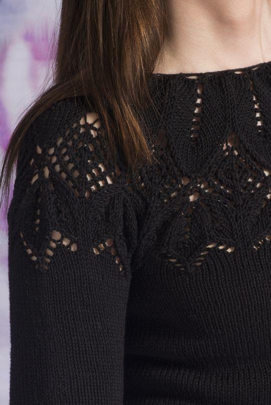 Naisen neulepusero Novita Puuvilla-Bambu | Novita knits