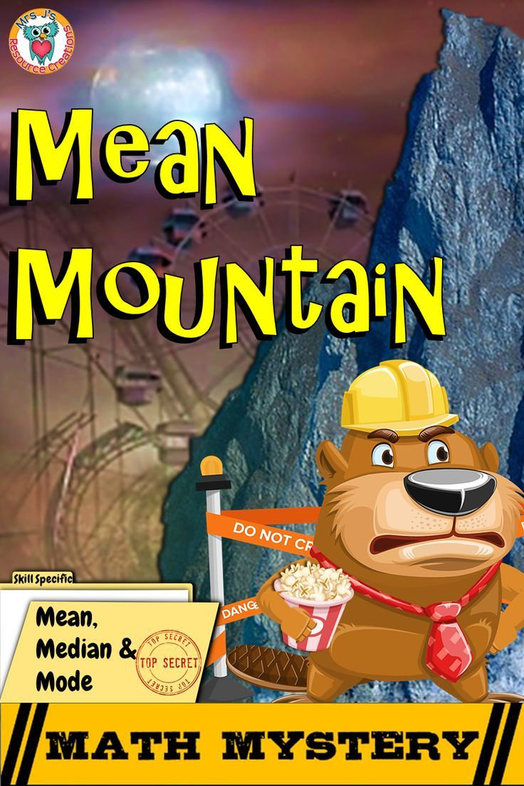 Mean Median And Mode Math Mystery The Case Of Mean Mountain 6th Grade Edition In 2020 Math Mystery Mode Math Math Helper [ 1103 x 736 Pixel ]