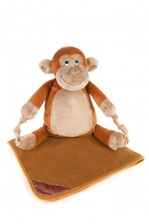 BoBo Buddies Childrens Blanket Backpack (Monkey) £24.99 #monkey #backpack