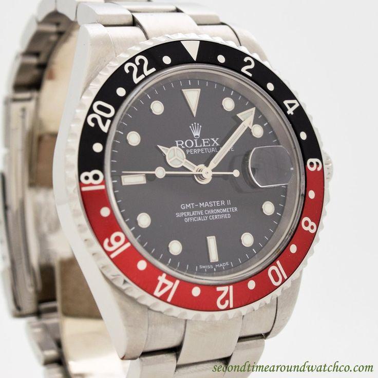 2005 Rolex GMT-Master II Ref. 16710T Stainless Steel Watch