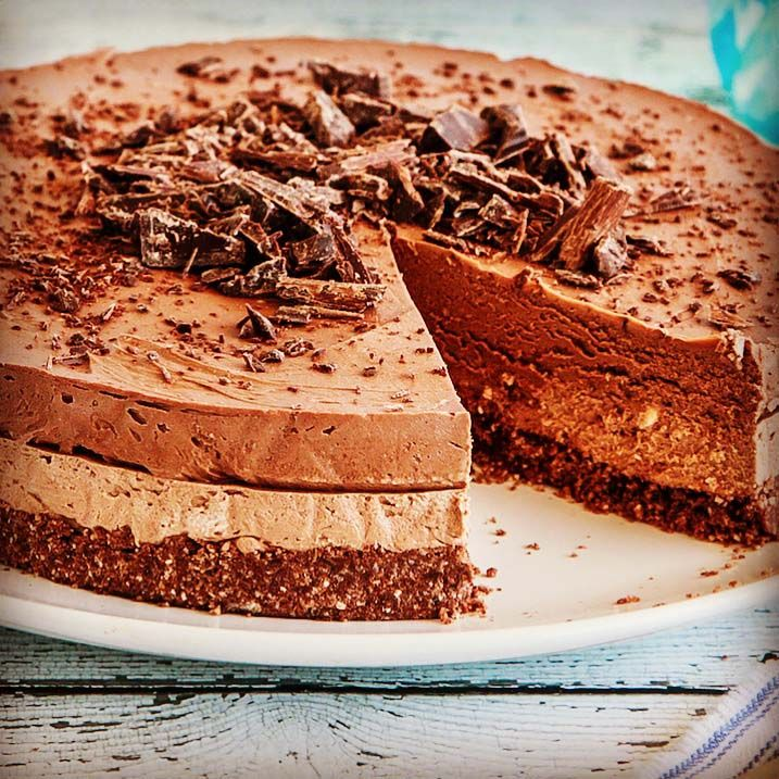 Read our delicious recipe for Triple Chocolate Cheesecake, a recipe from The Healthy Mummy, which will help you lose weight with lots of healthy recipes.