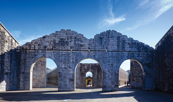For a wedding venue with a historic backdrop, book the historic ruins of Trial Bay Gaol, at Arakoon National Park in South West Rocks.