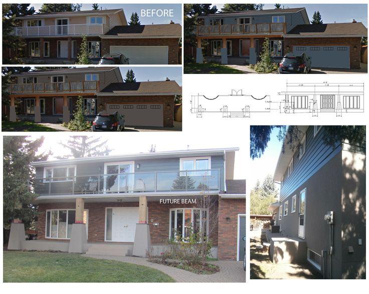 Edmonton Alberta Acrylic Stucco Pillars By:My Custom PRO