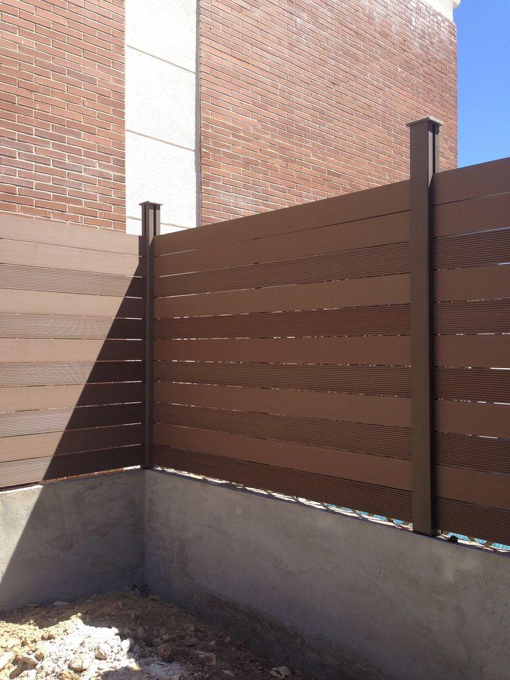 8 best images about vallas de exterior de madera - Cerramientos de madera para jardin ...