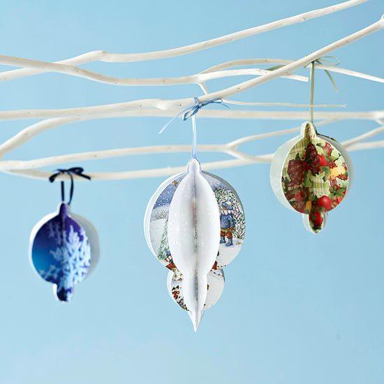 cartes de vœux du Noël passé comme décoration 3D