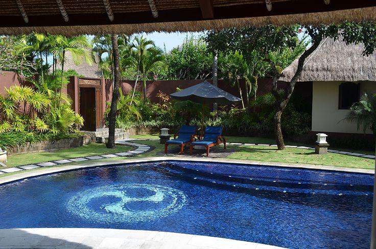 3 bedroom villa garden #dusunvillas #bali