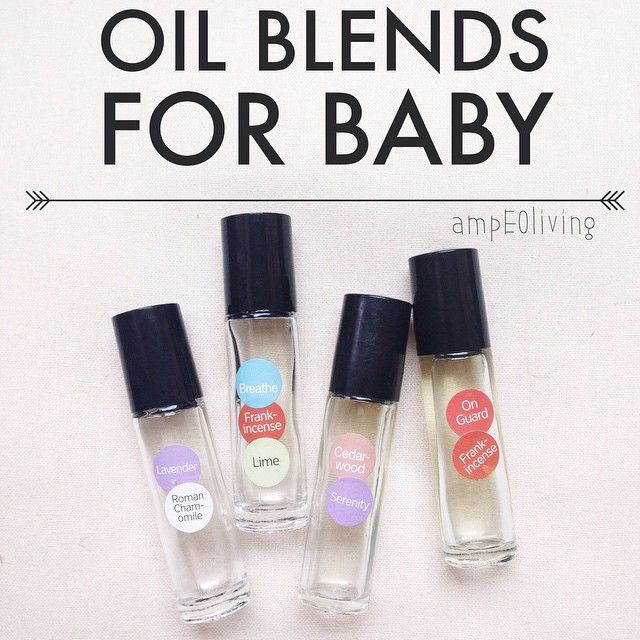 I Want To Share My Top Four Baby Blends I Used All Of