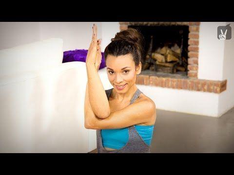 Yoga Schulter Nacken: Das schnelle Workout mit Amiena Zylla! - YouTube