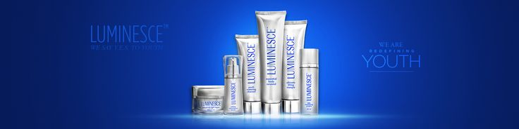 Luminesce... The skincare component of Y.E.S. , LUMINESCE™ super-charges the production of young, fresh skin cells. Infused with a potent growth factor complex derived from natural adult stem cells, the LUMINESCE™ family of products rejuvenates skin cells at a molecular level.  https://seeliveresults.jeunesseglobal.com/PersonalCare.aspx?id=1