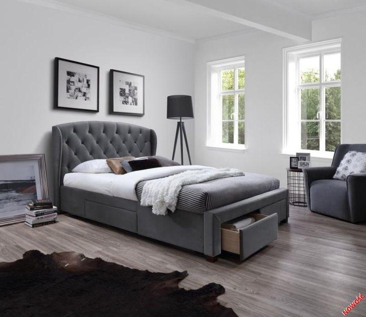 SABRINA łóżko popiel - Halmar Dostawa w cenie