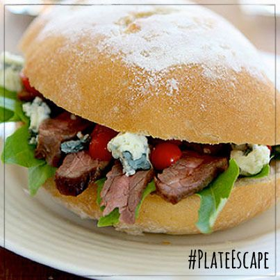 Caprese Sandwich: Light and filling, this tasty sandwich is perfect for picnics!
