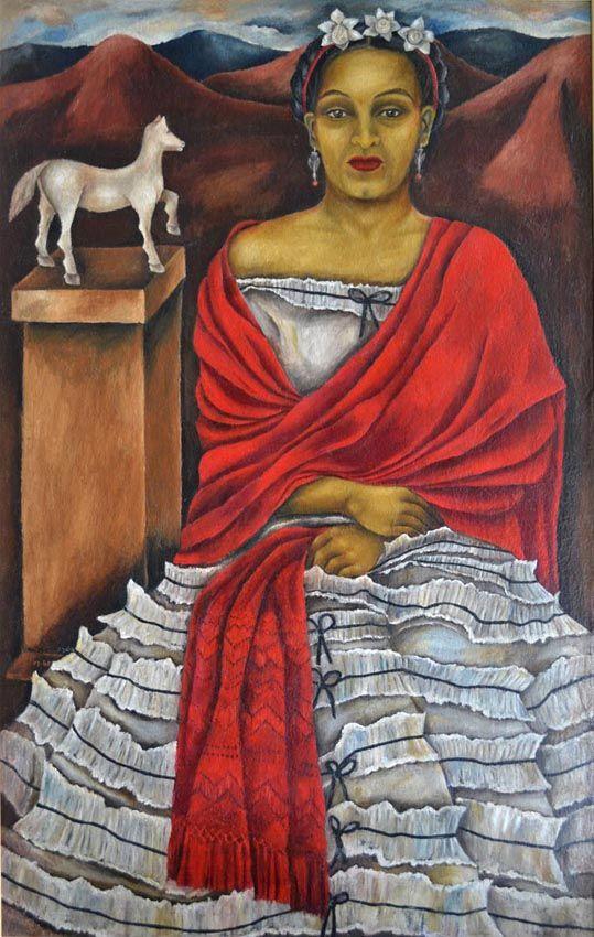 María Izquierdo, Autorretrato, 1940