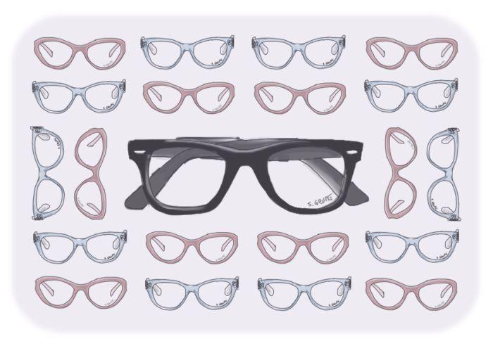 Welche Brille steht Ihnen? Hier finden Sie die wichtigsten Faktoren, auf die Sie beim Brillen-Kauf achten sollten.