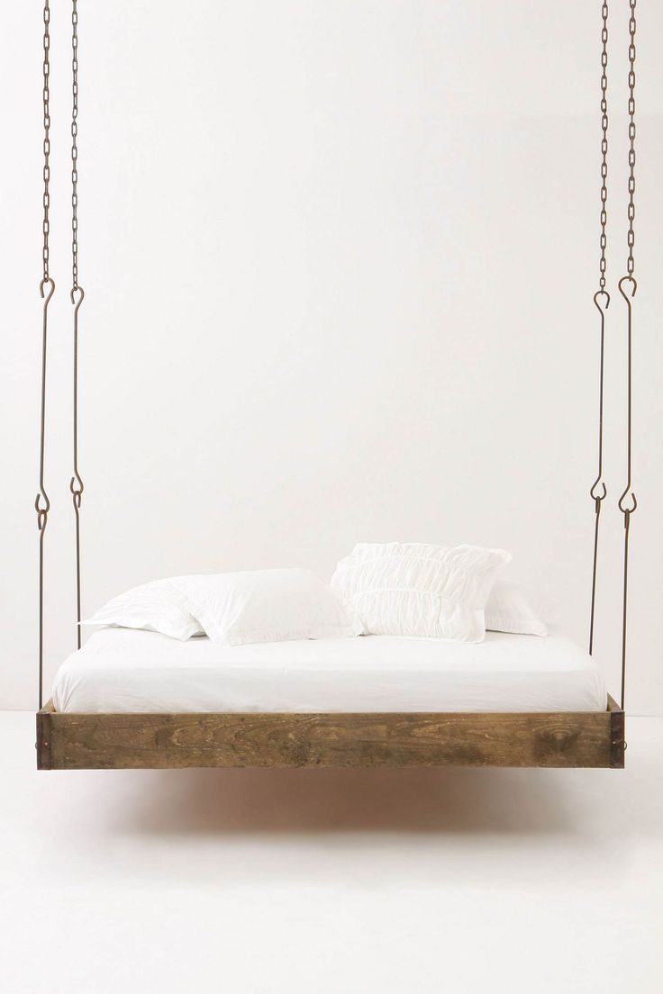 Barnwood Hanging Bed anthropologie .... dream bed!!!
