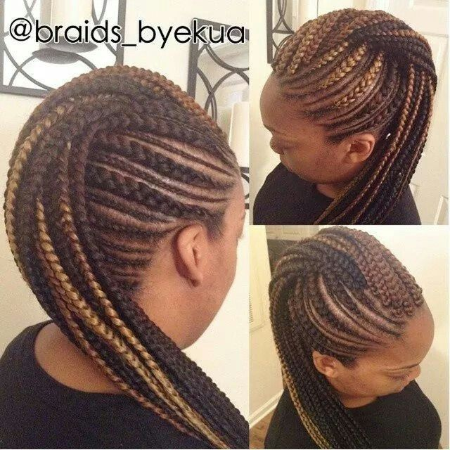 Fine 17 Best Ideas About Braided Mohawk Hairstyles On Pinterest Short Hairstyles Gunalazisus