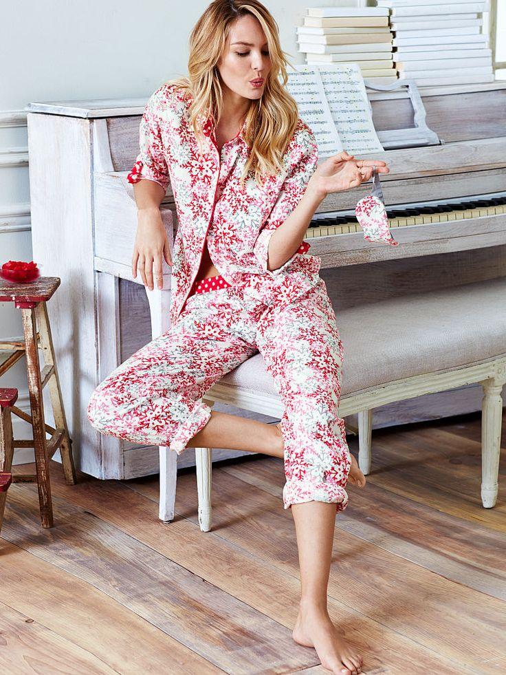 Victoria Secret Pajamas Satin