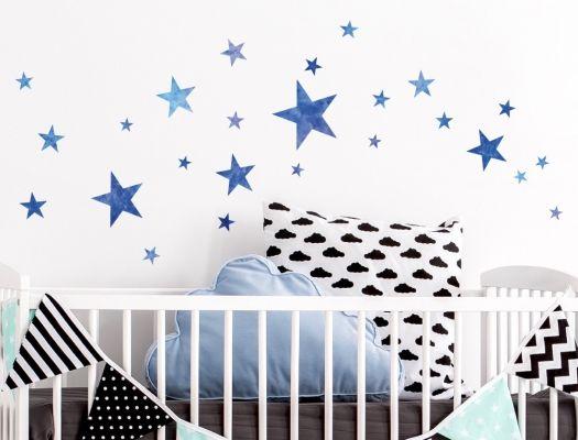 17 best Wandsticker Sterne für das Kinderzimmer images on Pinterest ...