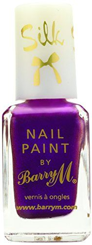 From 3.29 Barry M Cosmetics Silk Nail Paint Orchid