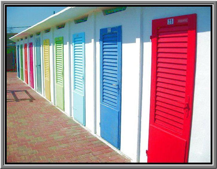 beach doors, Rimini...   www.hotelpolo.it