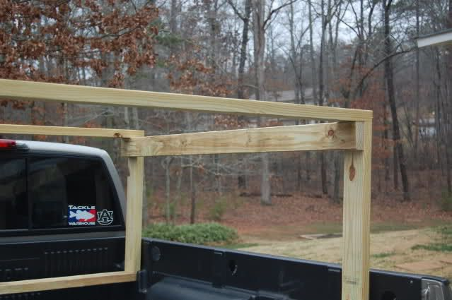 Homemade Truck Rack Diy Truck Bed Kayak Rack