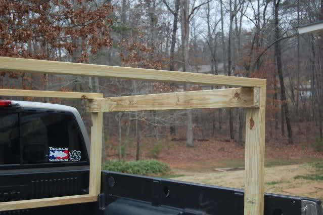 Homemade Truck Rack Diy Truck Bed Kayak Rack