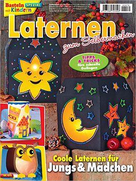 Cover: Basteln mit Kindern Spezial - Laternen zum Selbermachen