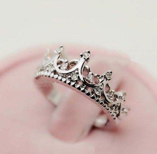 Vintage Crown Ring In Silver | deepblue - Jewelry on ArtFire