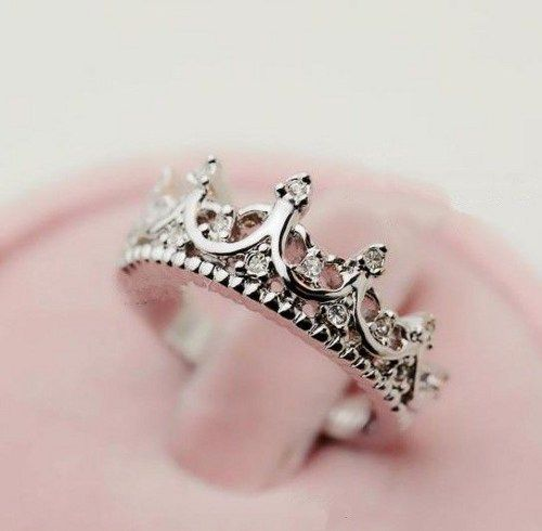 Vintage Crown Ring In Silver | deepblue - Jewelry on ArtFire
